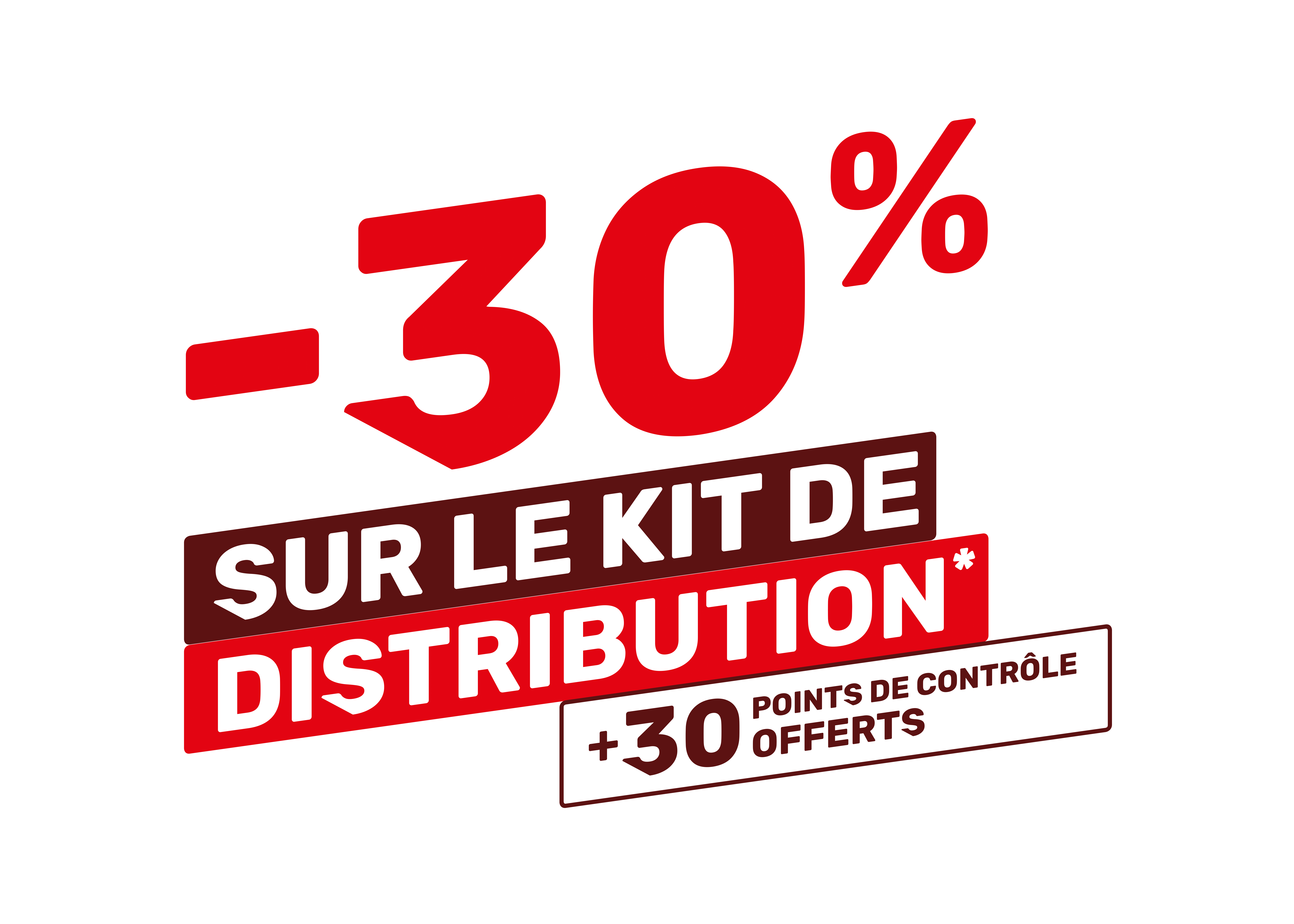 Promo : Kit de Distribution -30%